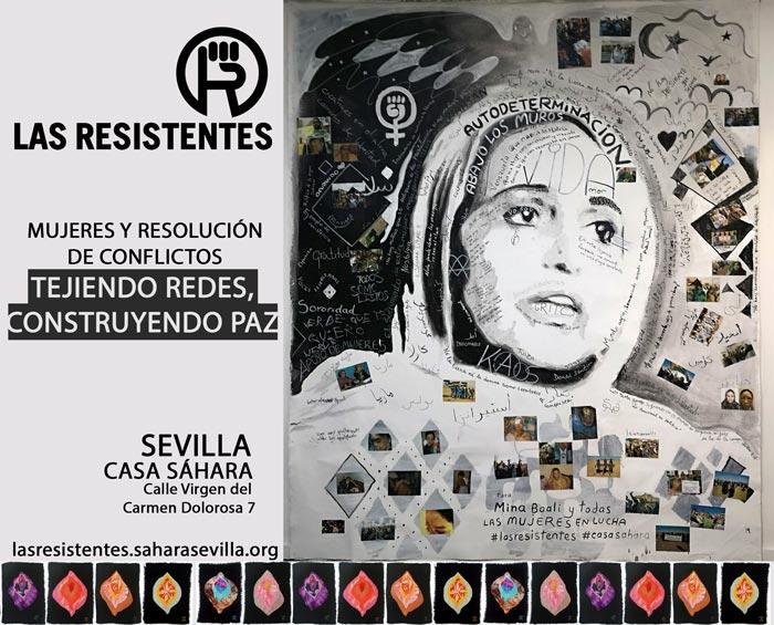cartel taller de las resistentes